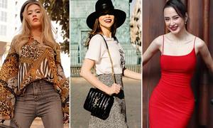 Street style chào hè đẳng cấp của sao, hot girl Việt tuần qua