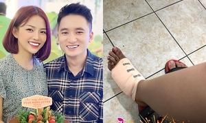 Phan Mạnh Quỳnh khiến bạn gái thiệt thòi vào 8/3 vì tai nạn xe máy
