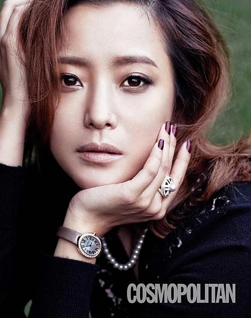 Hai đại mỹ nhân trong giới diễn viênlà Kim Hee Sun...