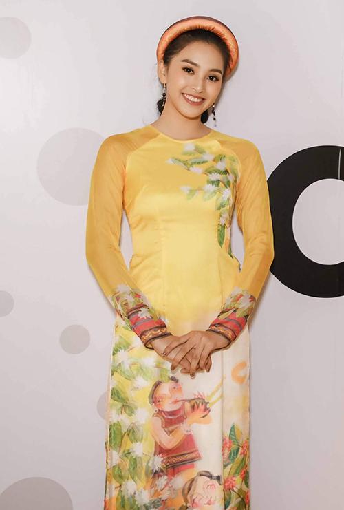 Hoa hậu trẻ tuổi nhất trong các người đẹp - Trần Tiểu Vy.