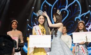 'Sao Mai' Tuyết Nga đăng quang Hoa hậu Áo dài Việt Nam 2019