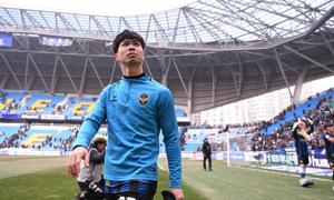 HLV Incheon United lý giải việc chỉ tung Công Phượng vào sân phút cuối