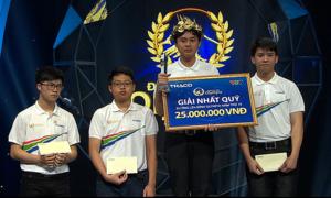 Nam sinh Khánh Hòa lội ngược dòng giành vé vào chung kết Olympia 2019