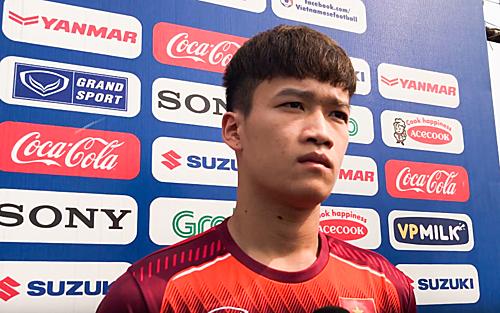 Đội phó U23 Việt Nam - Hoàng Đức