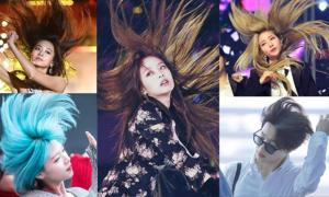 Những màn hất tóc đầy thần thái của sao Hàn