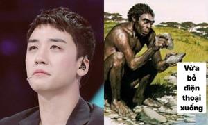 Ảnh chế: Fan Kpop 'loạn lạc' trước drama 'căng đét' của Seung Ri