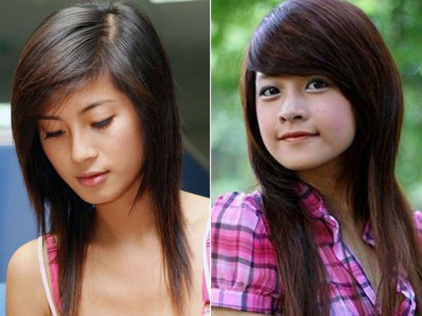 Đặc trưng nhận dạng những cô gái sành điệu của hơn 10 năm về trước là mái tóc tỉa layer với phần trên phồng ôm cụp vào mặt, phần dưới tỉa thật mỏng, tạo thành hai lớp rõ rệt. Kiểu tóc này còn được gọi là đầu sư tử và đình đám đến nỗi hầu như hot girl nào cũng từng thử nghiệm qua.