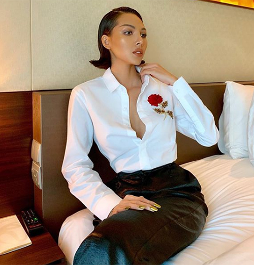 Minh Triệu có phong thái girl crush khiến