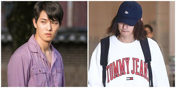 Jong Hyun của CNBLUE (trái) đang là cái tên tiếp theo bị nhắc trong scandal của Jung Joon Young (phải).