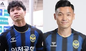Công Phượng bị 'đe dọa' khi Incheon United bổ sung tiền đạo kỳ cựu