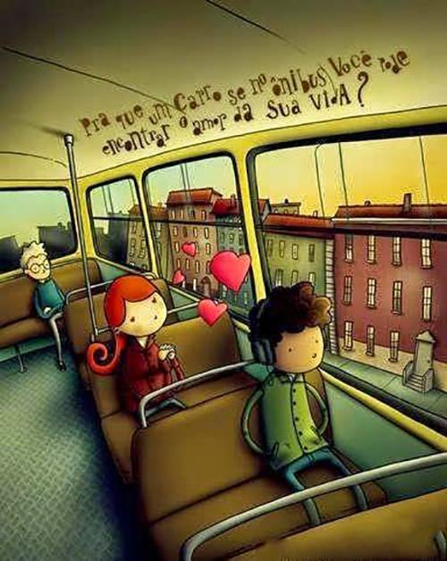 Bạn có tin đi xe bus nhiều sẽ có người yêu? - 2
