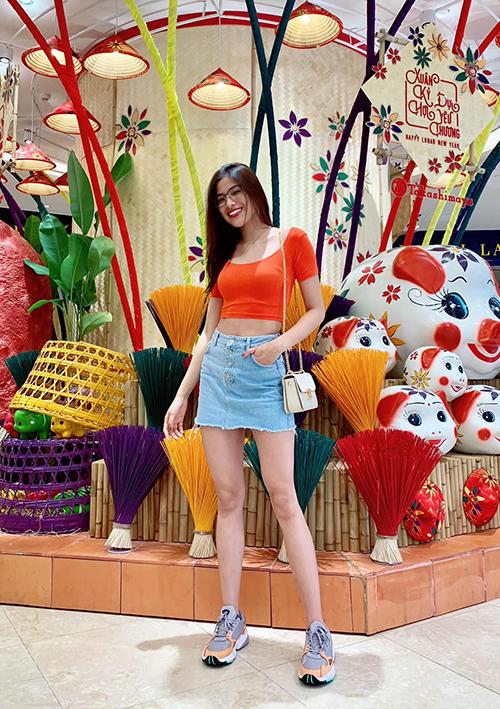 Đời thường, Nguyễn Thị Thành vẫn là cô gái trẻ trung, năng động.