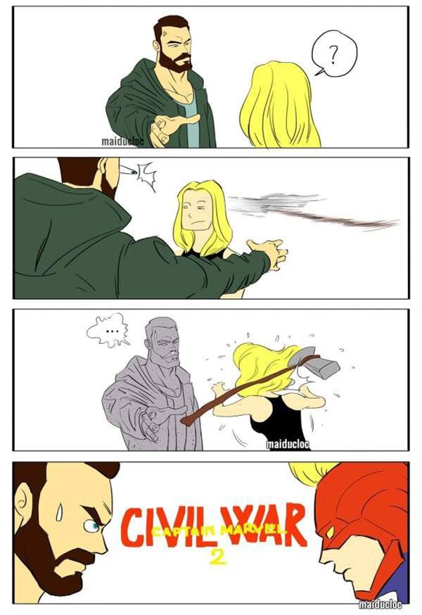 Trailer Avengers: End Game còn nóng hổi mà ảnh chế đã ngập tràn - 3