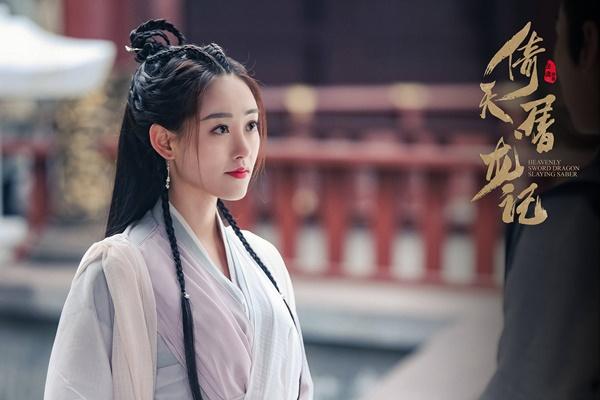 Vai Chu Chỉ Nhược trong Tân Ỷ thiên đồ long ký 2019 là vai  chính đầu tiên của Chúc Tự Đan. Ngay từ khi công bố poster phim, Chúc Tự  Đan đã thu hút sự chú ý nhờ diện mạo xinh đẹp, được khen rất hợp vai.