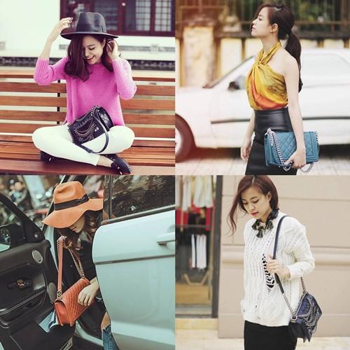 Những món phụ kiện hàng hiệu thường được nữ ca sĩ sử dụng khi đi sự kiện hay chụp hình street style.