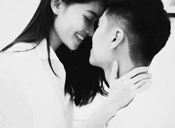Á hậu Thùy Dung và bạn trai.