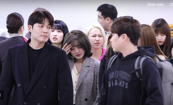 Khoảnh khắc Ji Hyo bật khóc khiến người hâm mộ xót xa.