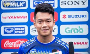 U23 Nguyễn Thành Chung: 'Đình Trọng có ảnh hưởng lớn đến hàng phòng ngự'