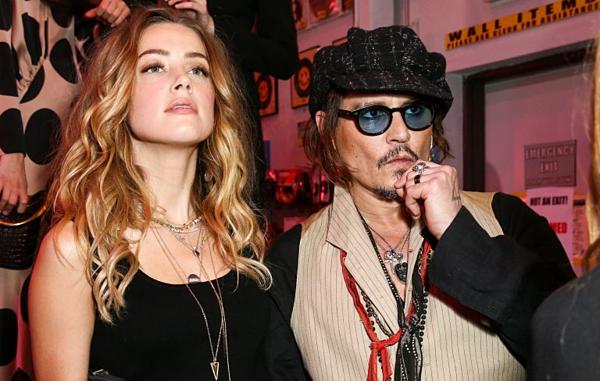 Amber Heard và Johnny Depp từng là cặp đôi tiếng tăm của Hollywood.