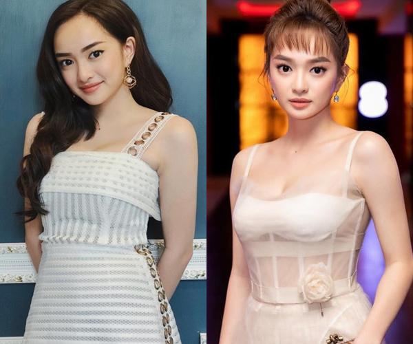 Khi dự sự kiện, cô gái với vẻ đẹp sắc sảo ưa chuộng những bộ đầm sang chảnh, tôn vòng một căng đầy.