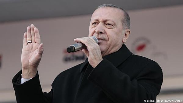 Tổng thống Thổ Nhĩ Kỳ Recep Tayyip Erdogan. Ảnh: AA.