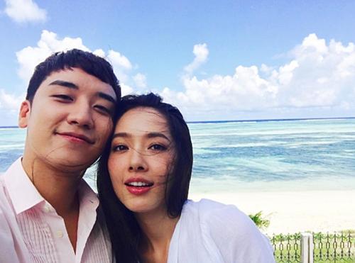 Tháng 9/2016, anh chàng vướng nghi án hẹn hò người đẹp Trung Quốc Quách Bích Đình.
