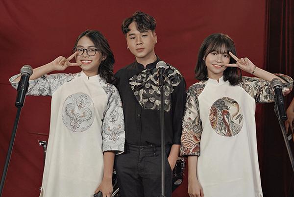 Phương Mỹ Chi, Quang Nhật, Phương Duyên (từ trái qua).
