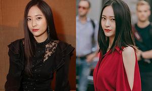 Thời trang của Krystal một năm qua: Mặc đẹp bất chấp tăng cân