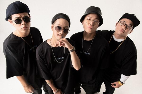 4 thành viên nhóm Da LAB.