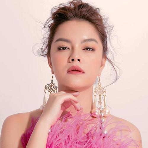 Nhan sắc ngọt ngào của Phạm Quỳnh Anh.