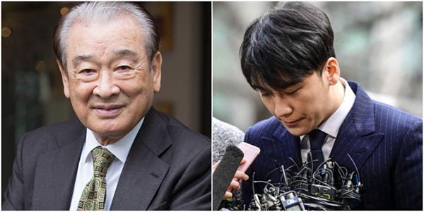 Nam diễn viên gạo cội lên tiếng về vụ bê bối của Seung Ri.