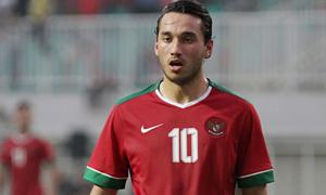 Cầu thủ gốc Hà Lan không đủ điều kiện khoác áo U23 Indonesia