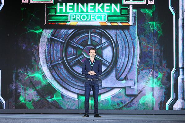 Ông Alexander Koch  Giám đốc Thương mại Cấp cao HEINEKEN Việt Nam - phát biểu tại sự kiện  ra mắt Heineken Silver