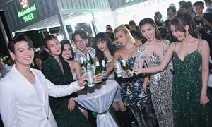 Heineken Silver ra mắt hoành tráng thu hút MC Quang Bảo và Châu Bùi