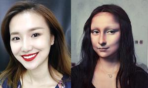 Nữ beauty blogger có tài hóa trang giống bản gốc 100%