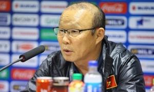 HLV Park: 'Chiến thắng của U23 là may mắn, tôi chưa hài lòng'