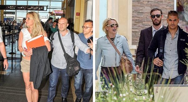 Vào năm 2014, Britney sợ bạn trai cũ theo dõi mình đến mức cô phải thuê thêm 2 vệ sĩ khác và nói họ phải bảo đảm rằng anh ta không được đến gần cô. Nữ ca sĩ nổi tiếng vì là người khó tính. Cô có khi đưa ra những quyết định, ý muốn kỳ lạ nhưng các vệ sĩ vẫn phải một mực tuân thủ theo.