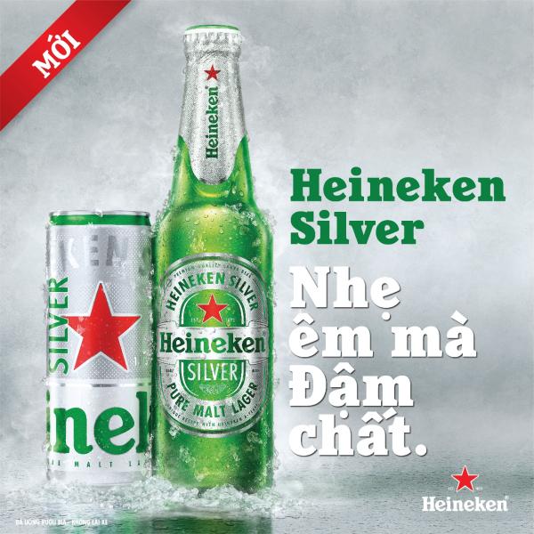 Sản phẩm bia cao cấp Heineken Silver hứa hẹn sẽ thỏa mãn cả những khách hàng trung thành của Heineken Nguyên Bản lẫn những khách hàng mới. Heineken Silver chắc chắn sẽ là lựa chọn hoàn hảo cho mọi cuộc vui, đặc biệt là trong những bữa ăn, vốn là thói quen thưởng thức bia phổ biến tại Việt Nam.