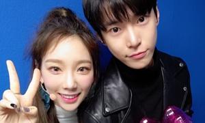 Tae Yeon dính tin đồn hẹn hò đàn em cùng công ty