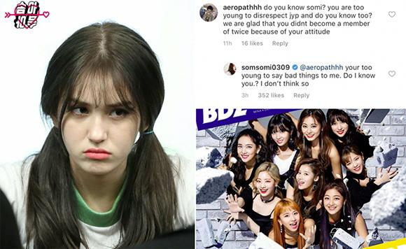 Cô nàng nhiều lần mỉa mai công ty cũ JYP.