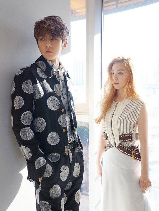 Năm 2016, Se Hun và Irene đã gây sốt khi cùng kết đôi trên tạp chí Ceci. Cặp đôi visual đẳng cấp của nhà SM khiến các fan no mắt với những bức ảnh đẹp, đầy quyền lực.