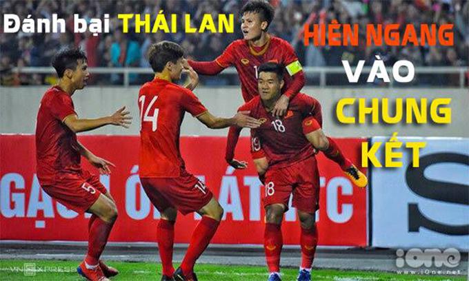 <p> Ở phút thứ 90+2, U23 Việt Nam tiếp tục tung cú sút quyết định nâng tỷ số lên 4-0. Với việc đánh bại Thái Lan, U23 Việt Nam giành vé vào chung kết U23 châu Á 2020.</p>