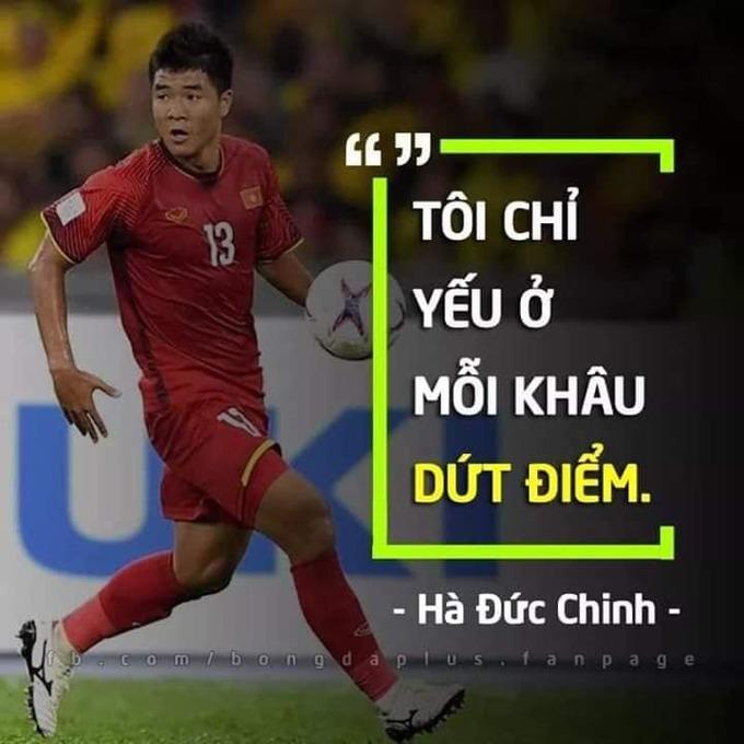 """<p> Đức Chinh """"không còn là chính mình"""" (Chinh 'Gỗ') khi ghi bàn trở lại sau một thời gian dài im lặng. Tại trận đấu mở màn bảng K của giải đấu gặp U23 Brunei, Đức Chinh cũng là người mở tỷ số. Đây cũng là bàn thắng đầu tiên của Hà Đức Chinh trong vòng một năm trở lại đây.</p>"""