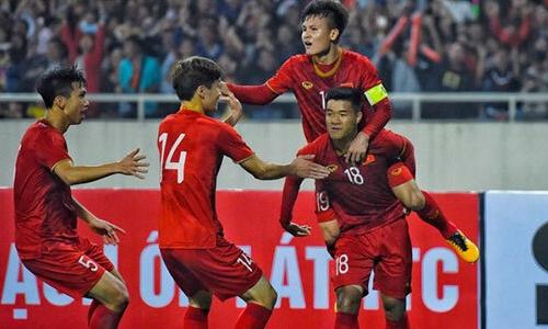 U23 Việt Nam chơi tưng bừng khi đối đầu với Thái Lan.