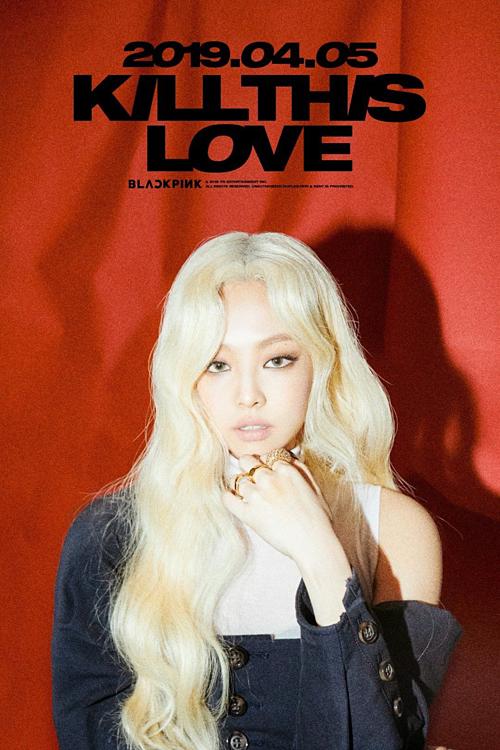Teaser của Jennie cho single Kill this love.