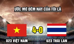 Fan chế ảnh cầu nguyện U23 Việt Nam đánh bại Thái Lan