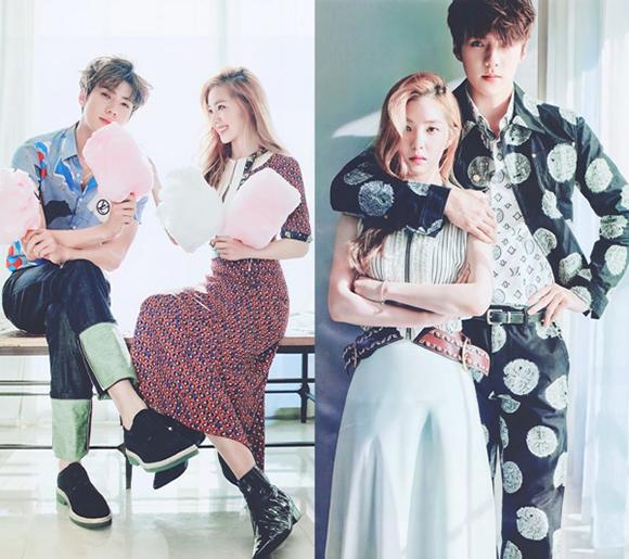 Se Hun - Irene được ghép đôi nhiệt tình nhờ bộ ảnh quá đẳng cấp. Hiếm có idol nữ nào đứng cạnh thành viên EXO mà không bị dìm nhan sắc.
