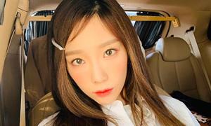 Phụ kiện tóc khiến Tae Yeon giữ nét đẹp 'không tuổi'