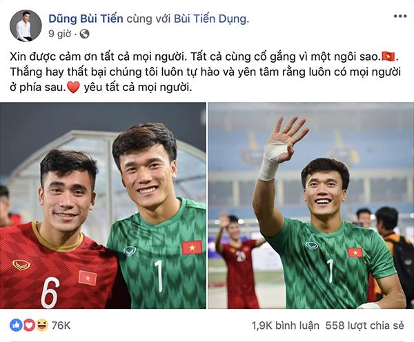 Dàn sao U23 đăng ảnh ăn mừng đánh bại Thái Lan nhận bão like - 2