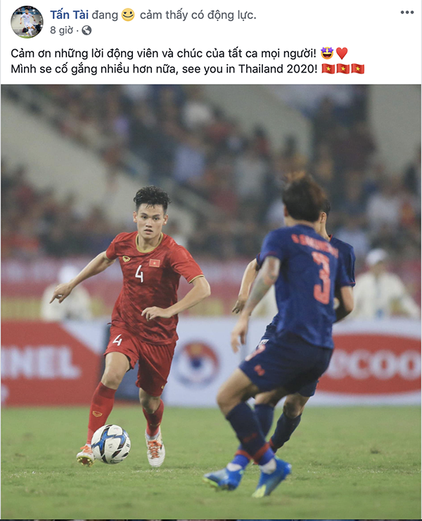 Dàn sao U23 đăng ảnh ăn mừng đánh bại Thái Lan nhận bão like - 7